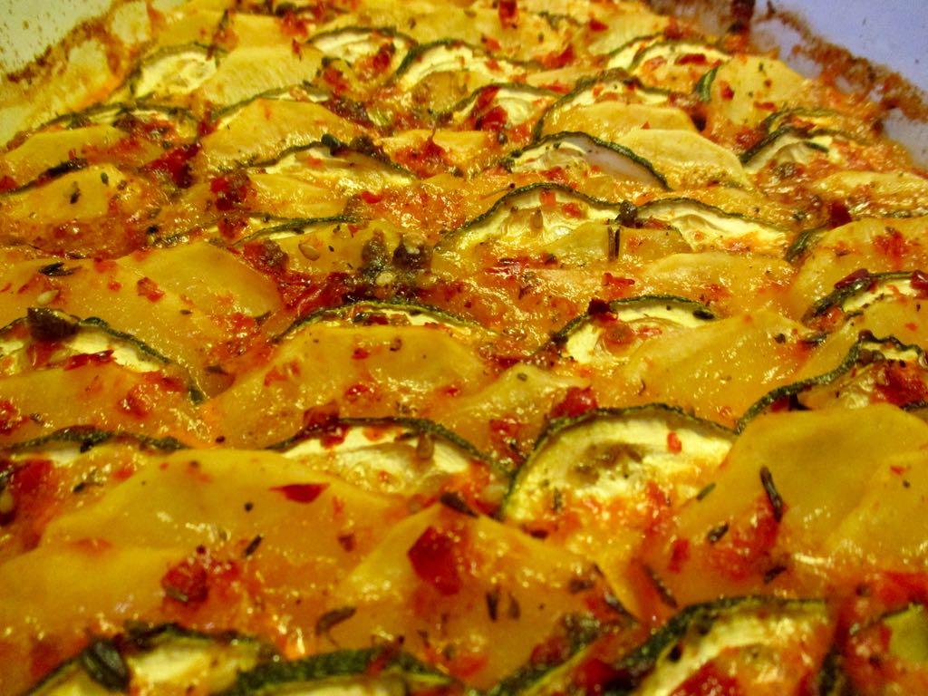 Rezepte mit zucchini tomaten und kartoffeln